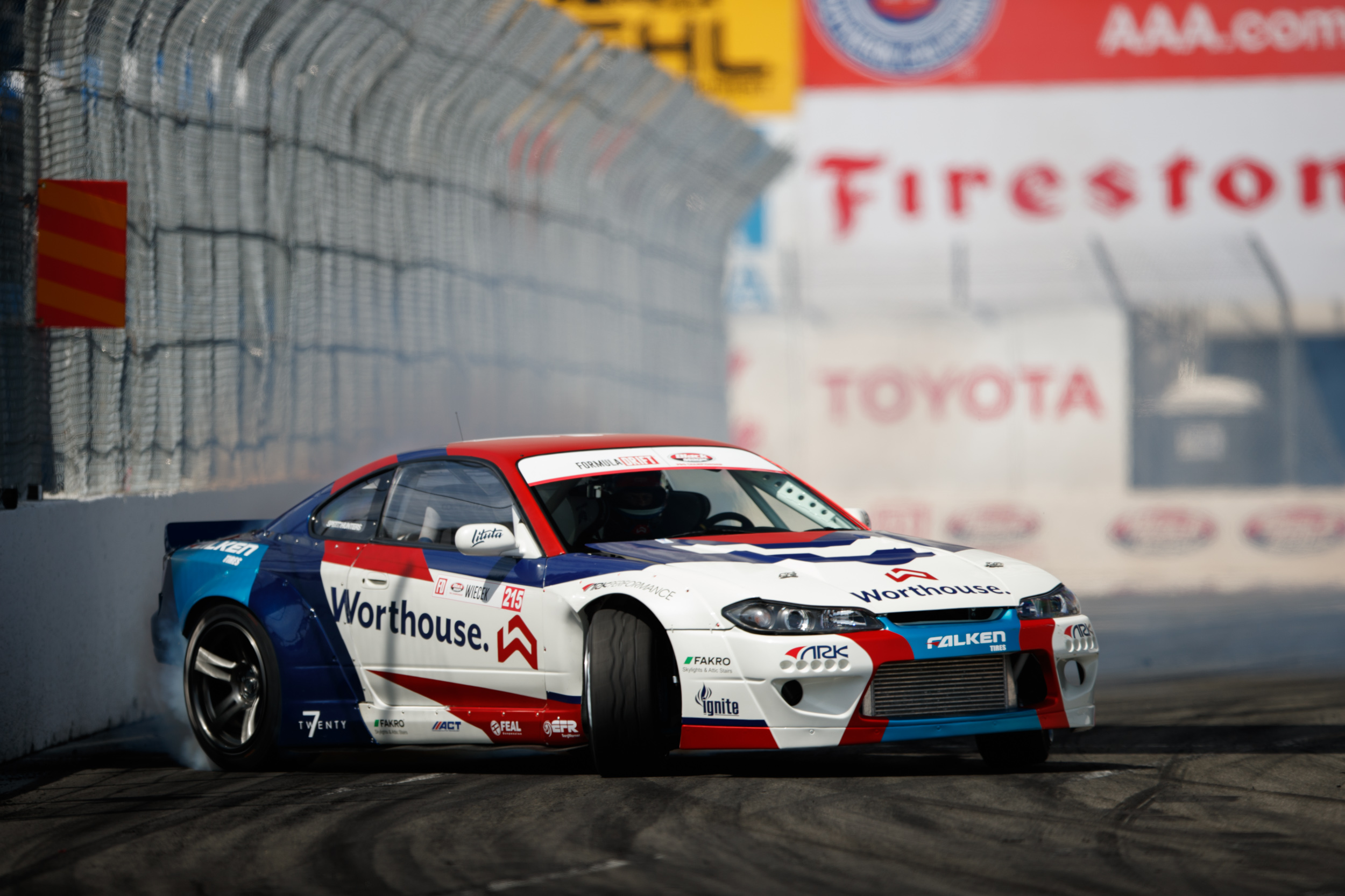 Falken Pro G4 A S >> Formula Drift STREETS OF LONG BEACH | Falken Tire