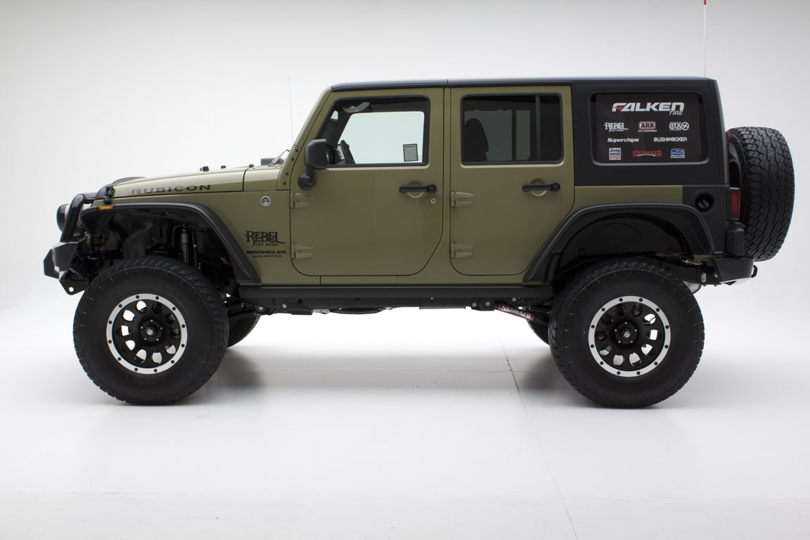 Jeep Wrangler Giveaway With Start Of 2013 Jamboree Usa And Jk Accessories Rebel Off Road