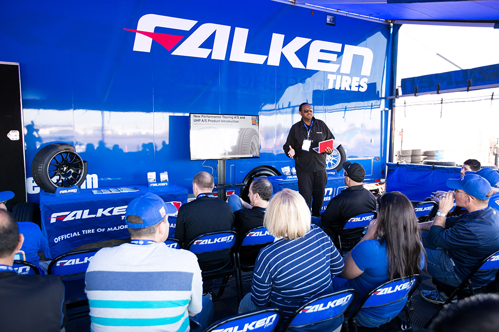 Falken Pro G4 A S >> A Day at the Ballpark with Falken Tires CEO Richard ...